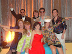 Volunteers for the Soul Train party included, back row:John Gonzalez, Amy Sutton, John Cornelsen, J. R. Holland; and front row: Maureen Washburn, Jay Bartley, Kara Shuror and Amy Plaskota.