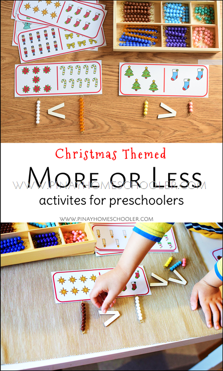 Comparing Numbers for Kindergartens and Preschoolers