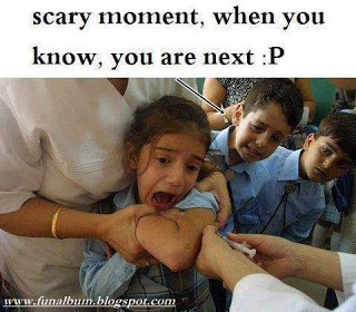 The most scary moment>>