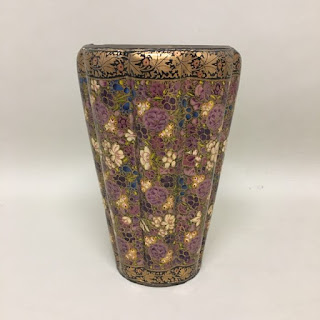 Hand Painted Indian Vase