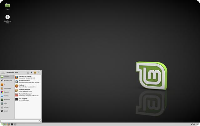 LinuxMint-xfce