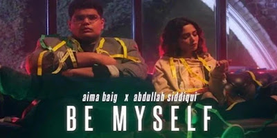 Aima Baig and Abdullah Siddiqui's English song teaser release
