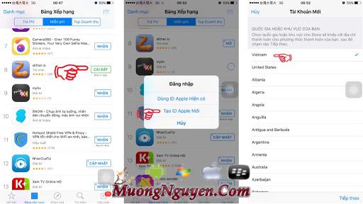 Hướng dẫn tạo ID Apple Việt Nam miễn phí không cần thẻ Visa ~ Blog Chia Sẻ-Game,Phần Mềm,Thủ Thuât Hay Cho Android Và IOS