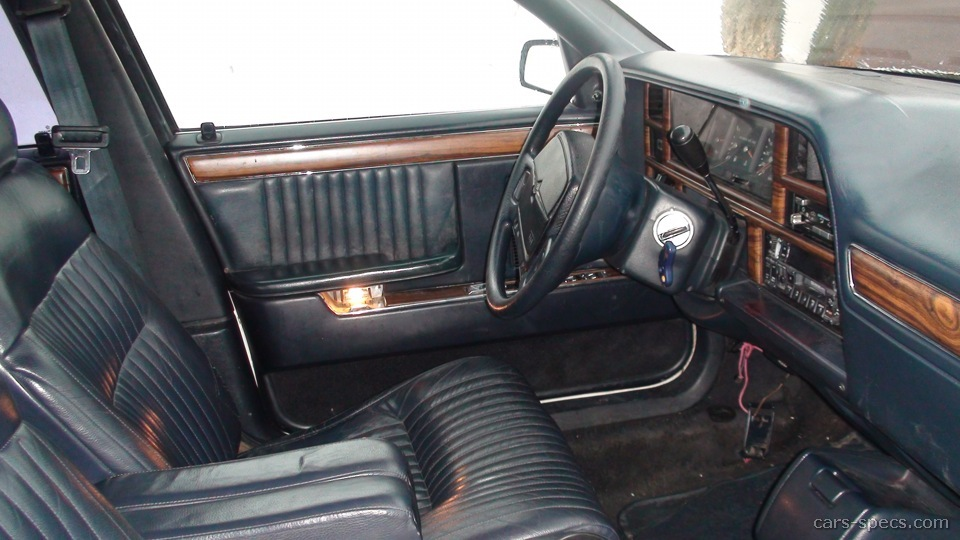 Chrysler 200 Mpg >> 1991 Chrysler New Yorker Sedan Specifications, Pictures, Prices