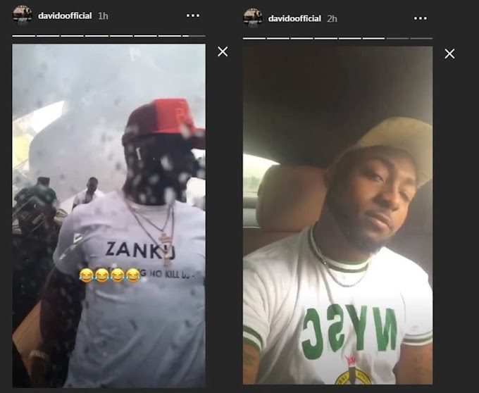 Read What Davido Told 'Corpers' After Electrifying The Lagos NYSC Orientation Camp With His Presence