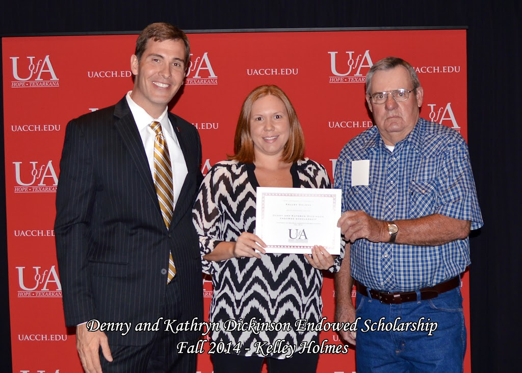 Scholarship Awards Ceremony Fall 2014 - Kelley%2BHolmes.jpg