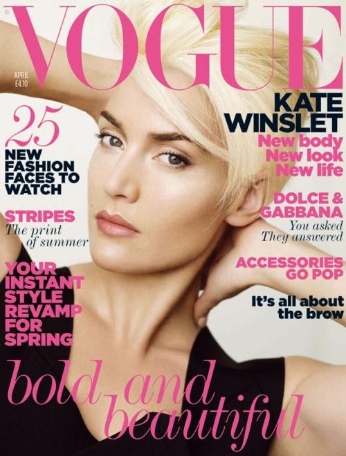 kate winslet 2011. Kate Winslet | Vogue UK April