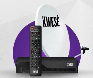Kwese TV decoder dish