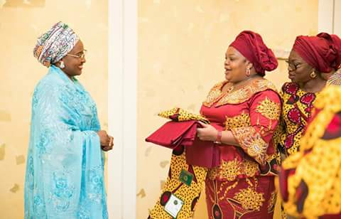 Image result for Nigerian women WITH FIRST LADY AISHA