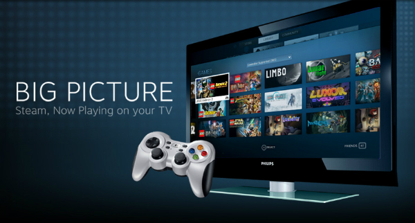 The Big Picture: Valve's Steam Box Brings PC Gaming To HDTVs