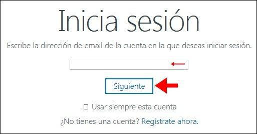Abrir mi cuenta OneDrive - 604