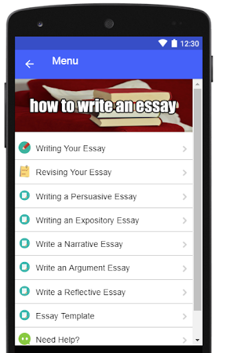 How to Write an Essay by Creative Writing Apps (Google Play