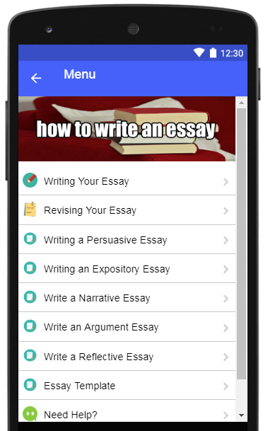 how to write an essay android apps on google play how to write an essay screenshot