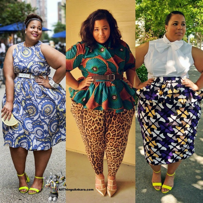 822babdb91289 20 Pictures of The Latest Ankara Styles For Fat   Chubby Ladies in ...