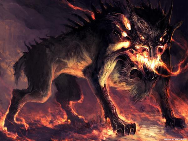 Demonic Dog, Evil Creatures