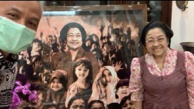 Tak Diundang Puan, Ganjar Ternyata Ketemu Megawati di Jakarta