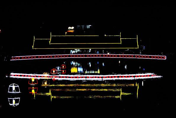Le luci della città di albimerlo