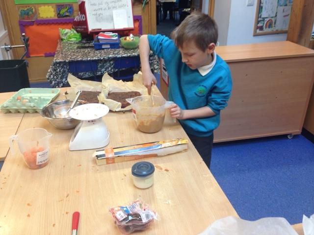 Cake Making Classes St Helens : Class 2 St. Helen s: And some bonus carrot cake...