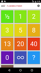 Planning Poker- screenshot thumbnail