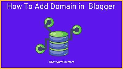 Domain name in blogger