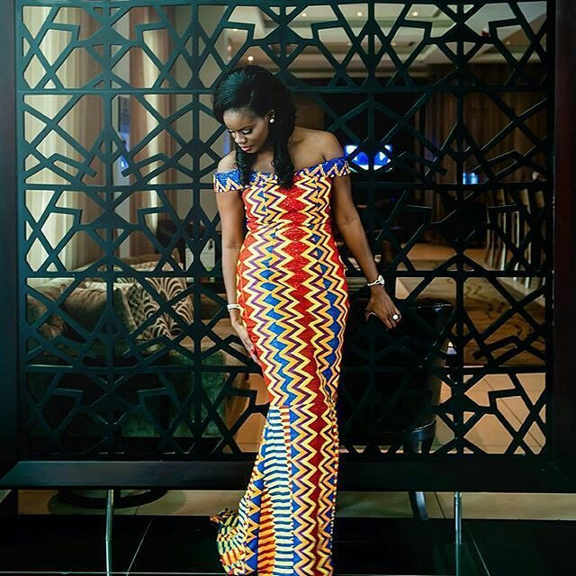 Latest Kente Styles For African Woman In 2018 1