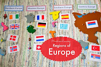 Hands-on Learning on the European Regions