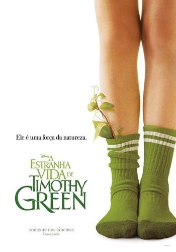 A Estranha Vida de Timothy Green - Pôster nacional