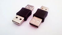 Adaptor USB A male to USB A male