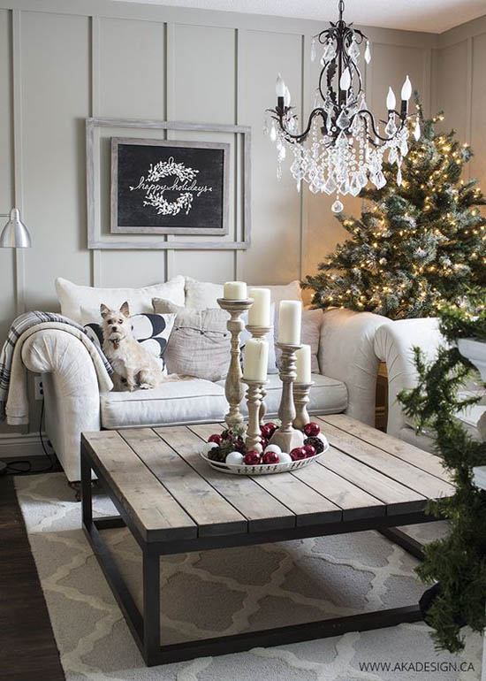 Living Christmas decoration