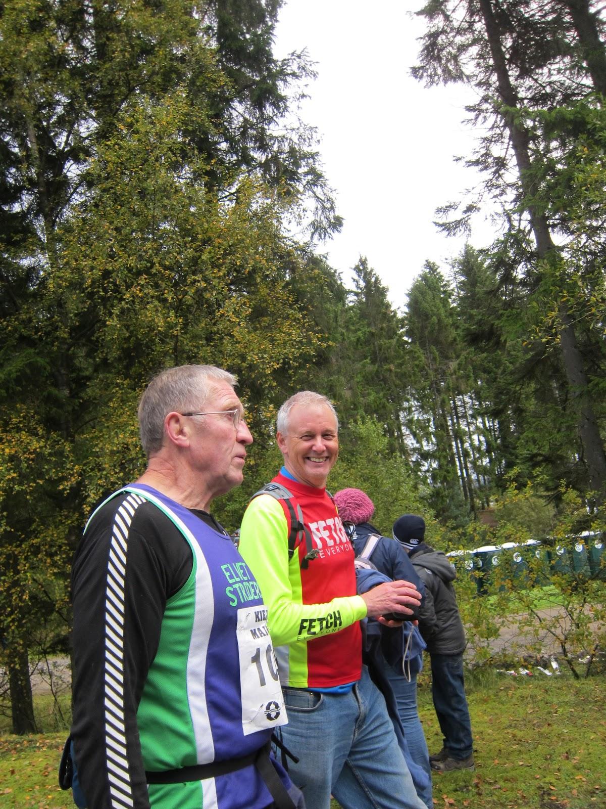 Kielder -- Dave Robson -- Alan Purvis -- Kielder Marathon - 2010 -- Alan Purvis - Elvet Striders -- Dave Robson - Elvet Striders -- (United Kingdom - England - Falstone - Falstone) -- Sun 17 Oct 2010 09-02-42 BST.jpg