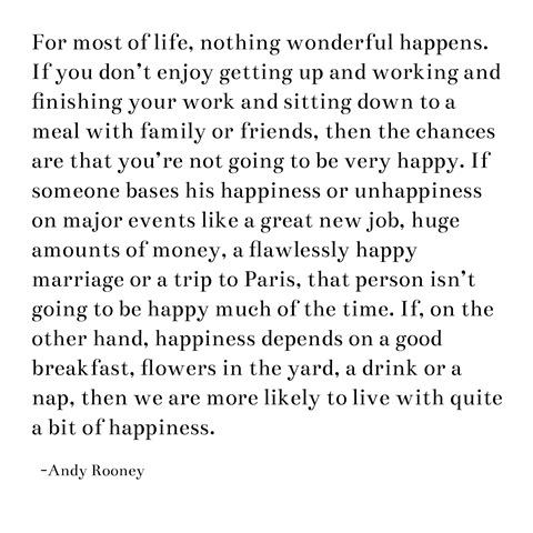 happiness -- rooney