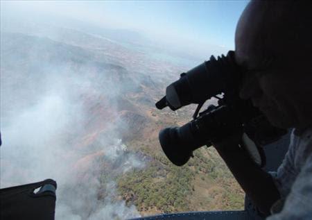 Incendio en Chalatenango arrasa con 80 hectáreas de bosque