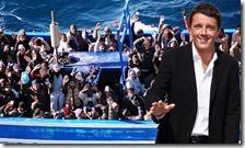 Matteo Renzi e i migranti