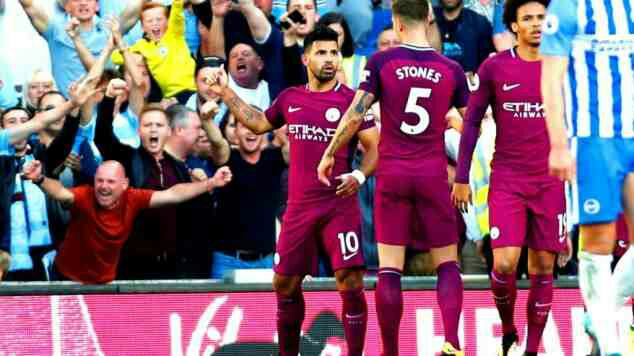 Brighton vs Manchester City Premier League Match Highlights