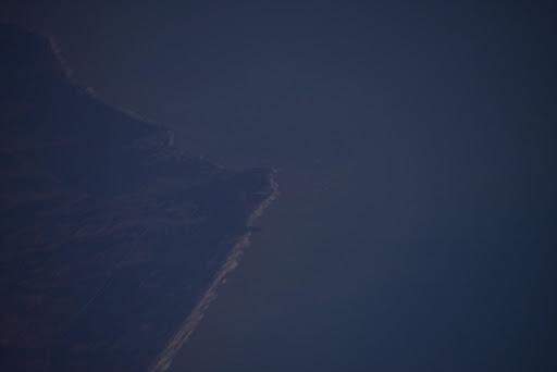 Colombian coast next to Isla Fuerte