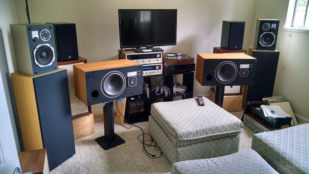 Show off your small listening space page 35 audiokarma for Small room 7 1 setup
