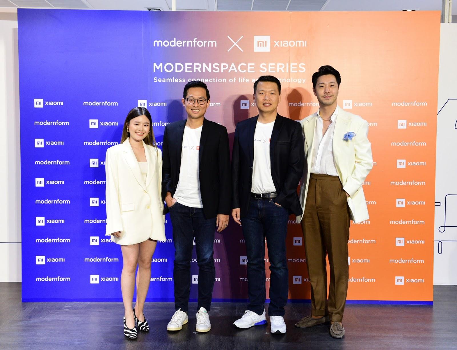 "Modernform x Xiaomi สร้างปรากฏการณ์นวัตกรรมการออกแบบเฟอร์นิเจอร์รูปแบบใหม่ ""Modernspace Series"" ตอบโจทย์ไลฟ์สไตล์นิว นอร์มอล ผสานการใช้ชีวิตและเทคโนโลยีให้เป็นหนึ่ง"