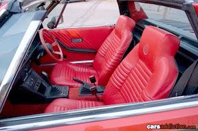 Fiat X19 Red Interior