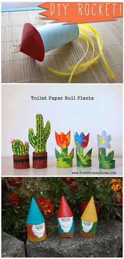 DIY Paper Roll Tube Crafts
