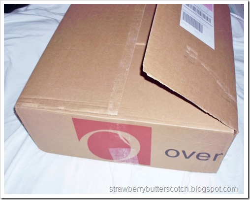 Bought a sewing machine from Overstock.com