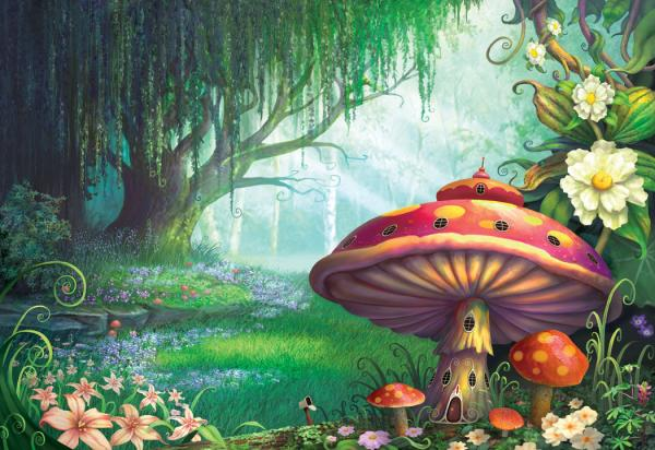 Enchanted Forest Puzzle, Magical Landscapes 5