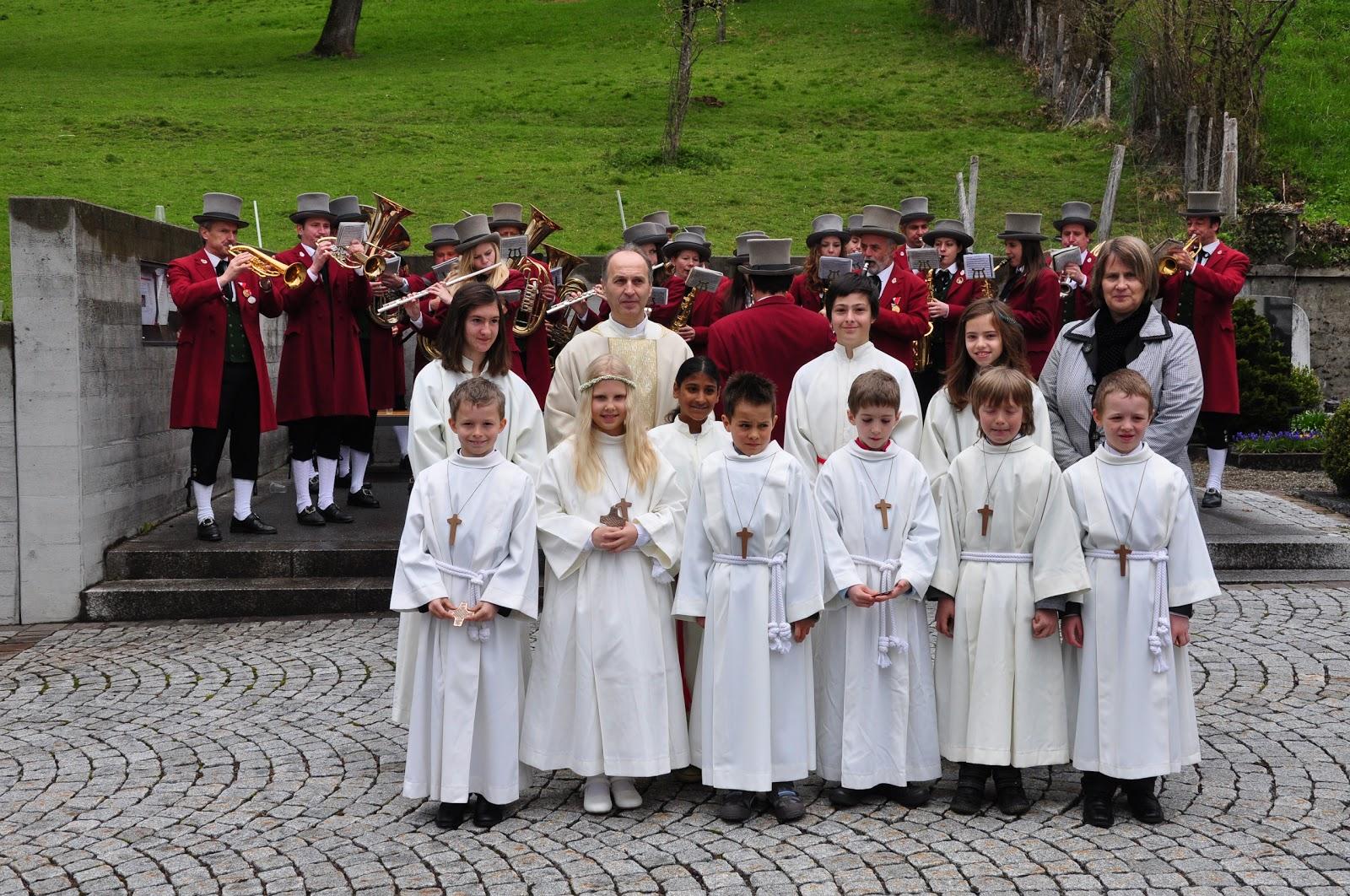 Erstkommunion auf der Fluh am 22.04.2012