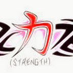 strength tribal - Chinese Lettering Designs