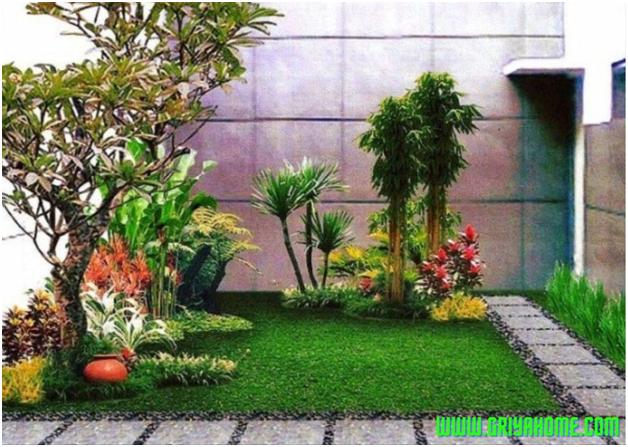 Dekorasi Taman Rumah Untuk Lahan Kecil