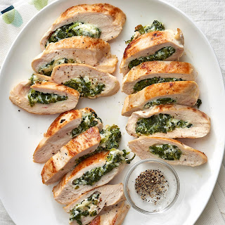 How To Make Stuffed Chicken Breast with Spinach & Cheese.