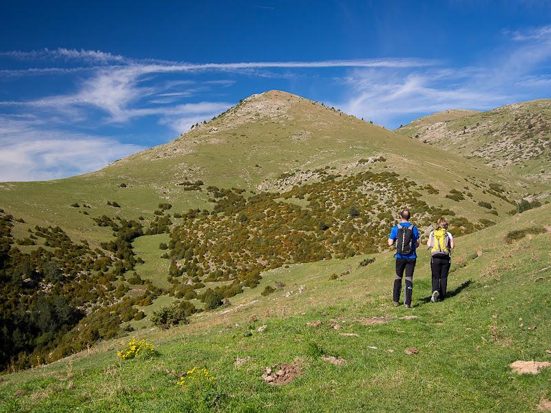 Tossal d'Orriols, entre pastures