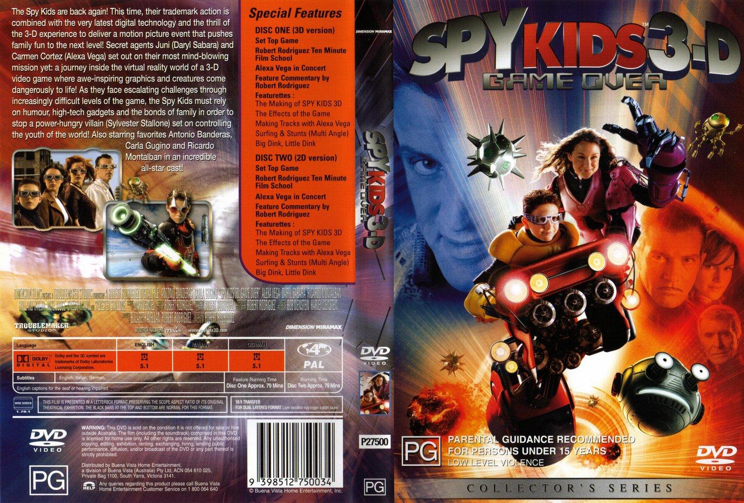 Assistir Pequenos Espiões 3D (2003) Torrent Dublado 720p 1080p 5.1 Online