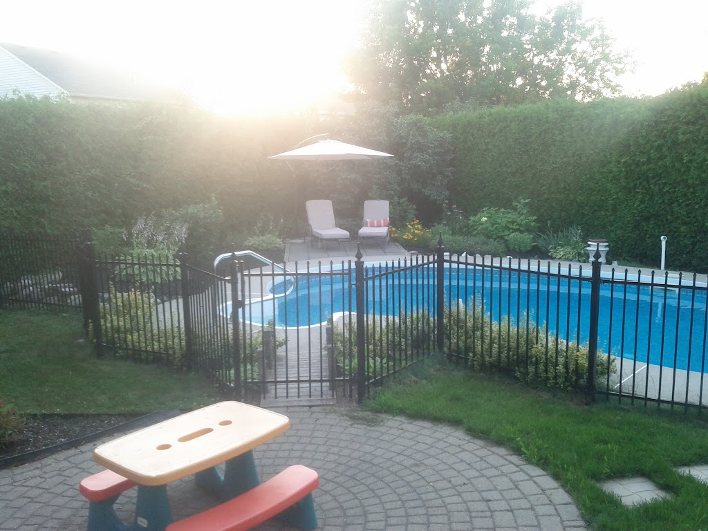 Inground pool security fence ideas page 3 redflagdeals for In ground pool fence ideas