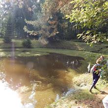 Pochod k rybníku do Roubaniny