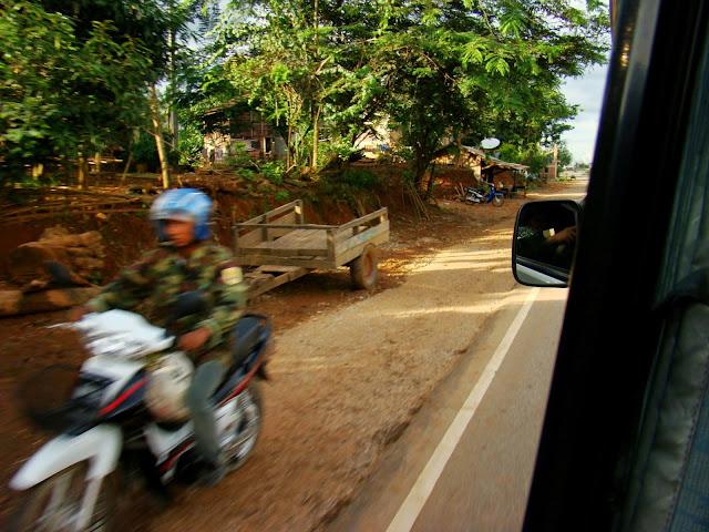 Carretera de Laos
